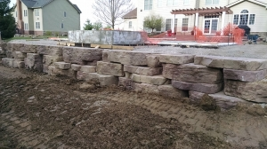 Retaining Wall Installation near Sterling Heights MI  - Rosetta_Outcropping