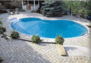 Fiberglass In-ground Pools near Lakeland MI - miller_Pool