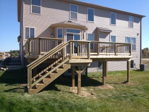 Pergola Construction in Rochester MI - Deck